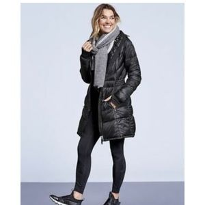 Athleta Long Lightweight Down Jacket
